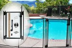 Pool Fence DIY by Life Saver Self-Closing Gate Kit