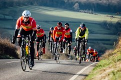 poole wheelers club ride with 523