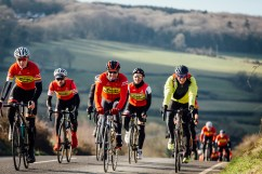 poole wheelers club ride with 525