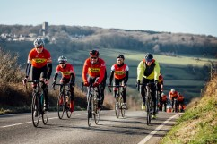 poole wheelers club ride with 527