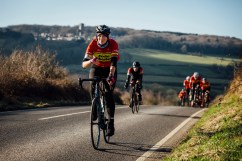 poole wheelers club ride with 532