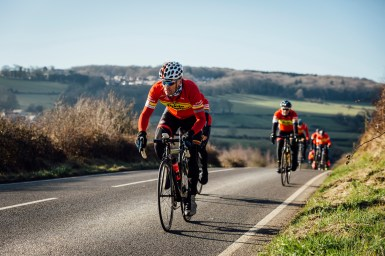 poole wheelers club ride with 538
