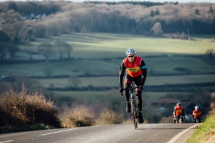 poole wheelers club ride with 553