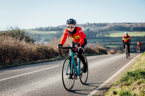 poole wheelers club ride with 573