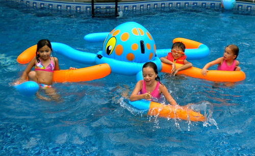 Kids Pool Party Ideas  Mermaids, Pirates And Hopping Frogs