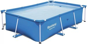Bestway Steel Pro 102x67x24 Rectangular Above-Ground Pool