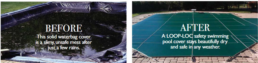 safety cover before & after