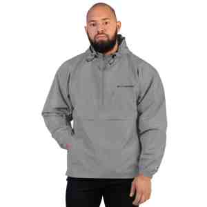 Turtle Network Embroidered Champion Packable Jacket