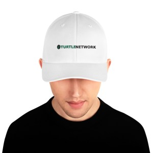 Turtle Network Structured Twill Cap