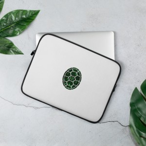 Turtle Network Laptop Sleeve