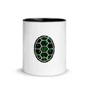Turtle Network Mug with Color Inside