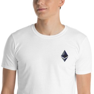 Ethereum Logo Short-Sleeve Unisex T-Shirt