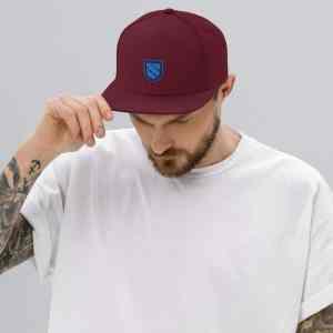 Sentinel VPN Logo Snapback Hat