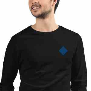 Waves Logo Unisex Long Sleeve Tee