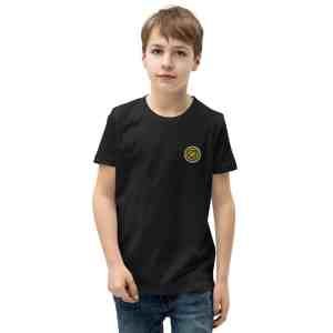 Garlicoin Logo Youth Short Sleeve T-Shirt