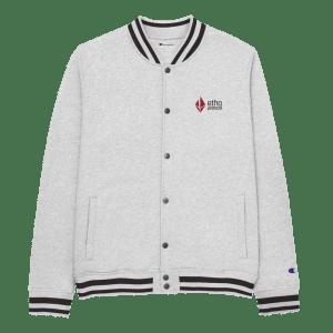 Etho Protocol Embroidered Champion Bomber Jacket