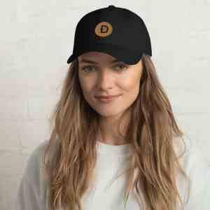 Dogecoin Logo Dad hat