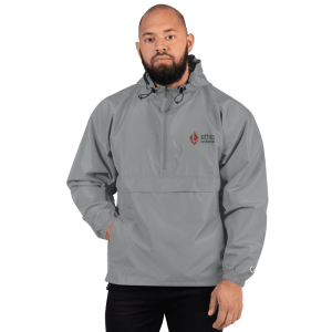 Etho Protocol Embroidered Champion Packable Jacket