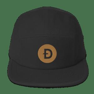 Dogecoin Logo Five Panel Cap