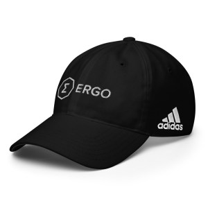 Ergo Full Logo Adidas Performance golf cap
