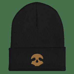 Pirate Skull Cuffed Beanie