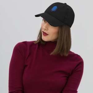 Turtle Network Logo Distressed Dad Hat