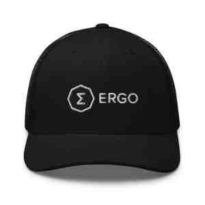 Ergo Full Logo Trucker Cap