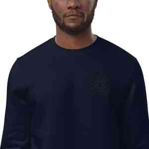Cardano Logo Unisex eco sweatshirt