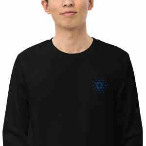 Cardano Logo Unisex organic sweatshirt