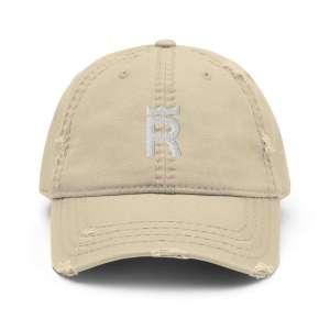 REX Token Logo Distressed Dad Hat