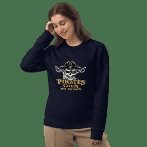 Pirate Chain Recruit Unisex eco sweatshirt