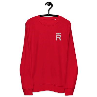 unisex-organic-sweatshirt-red-front-6139553c376a5.png