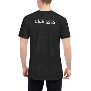 Club 5555 Unisex Tri-Blend Track Shirt