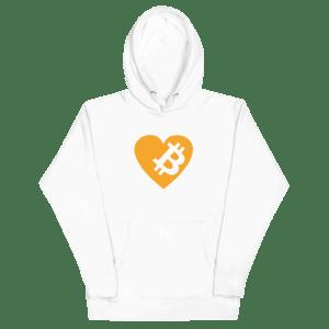 Love Bitcoin Unisex Hoodie