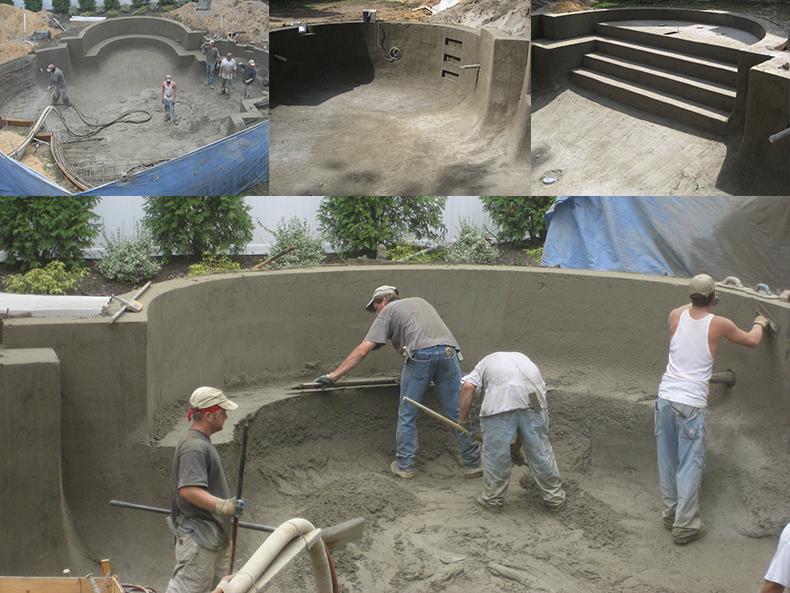 Gunite Pool Construction Process  South Jerseys Best