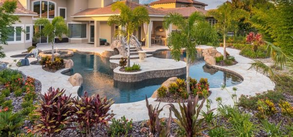 pool friendly plants - landscaping