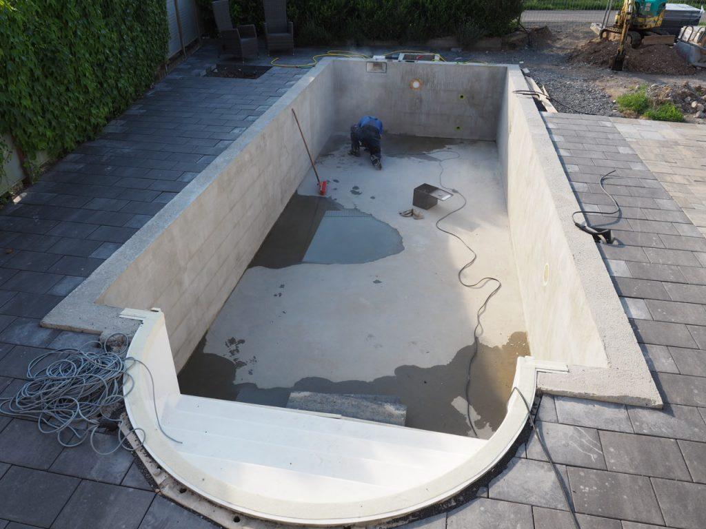 Pool Mauern Bausatz Schwimmbecken Komplett Mit Einbau Mein