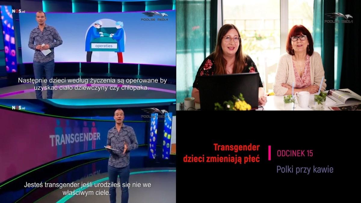Transgender, dwunastoletnie dzieci w Holandii zmieniają płeć.