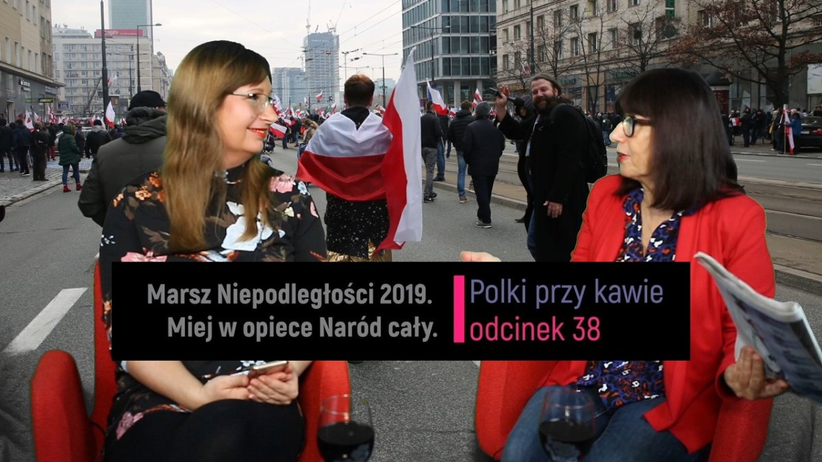Polki relacjonują z Holandii Marsz Niepodległości 2019