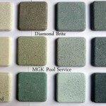 Diamond Brite Pool Surface Samples