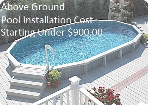 Above Ground Pool Installation Service Swimming Pool Installers 2018