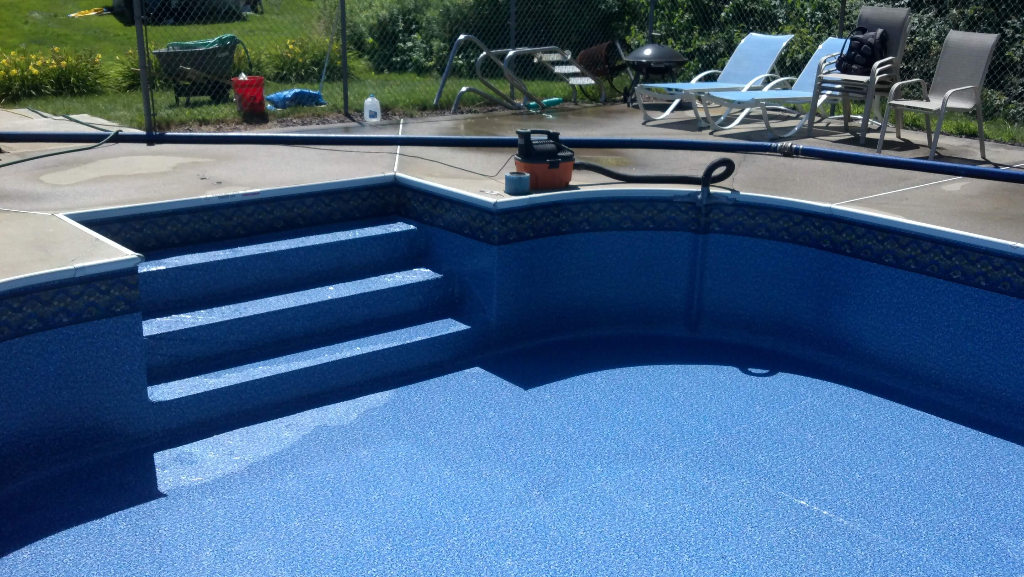 Inground Pool Liner Cost 2018 Prices For A Good Pool Liner Labor