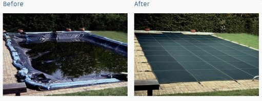 inground pool covers