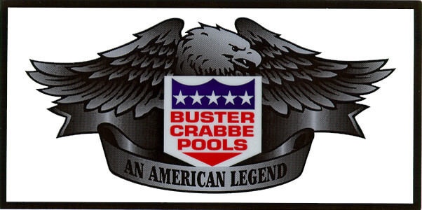 Buster Crabbe Pools Logo