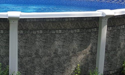 Lamark Edge Lamark LASA Above Ground Swimming Pool