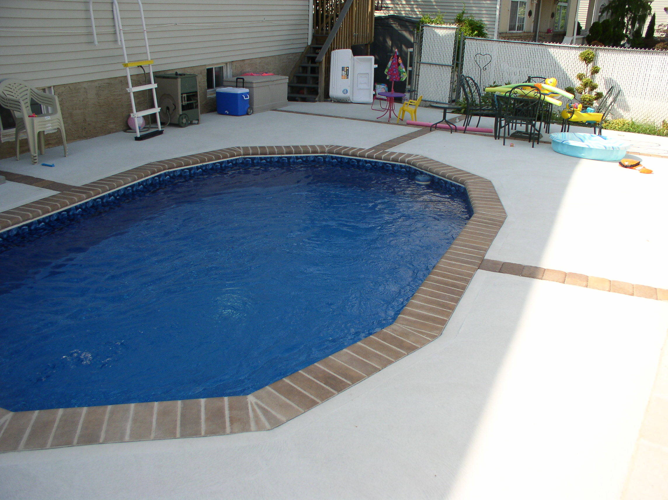 Swimming Inground Pools : Semi inground pools brands options prices reviews and advice