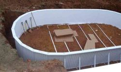 Above Ground Pools With Deep End And Deck Prices