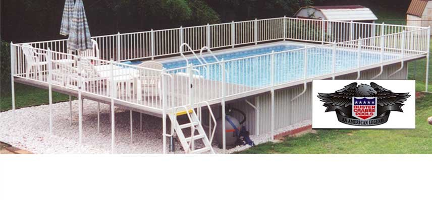 Pool Packages Above Ground Pools Semi Inground Swimming Pools