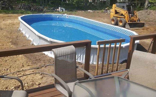 Above Ground Pool Install Inground