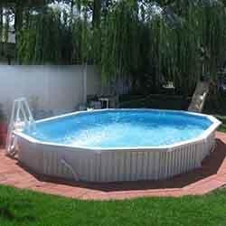 Semi-Inground Pools